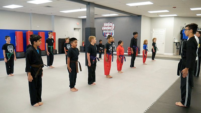 Total Impact Martial Arts - Arlington Heights - Kid's Martial Arts - Children's Karate - Building Self Esteem